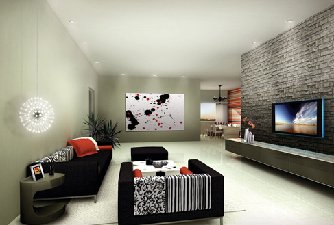 Rock realty one north for Interior designs by twinkle khanna